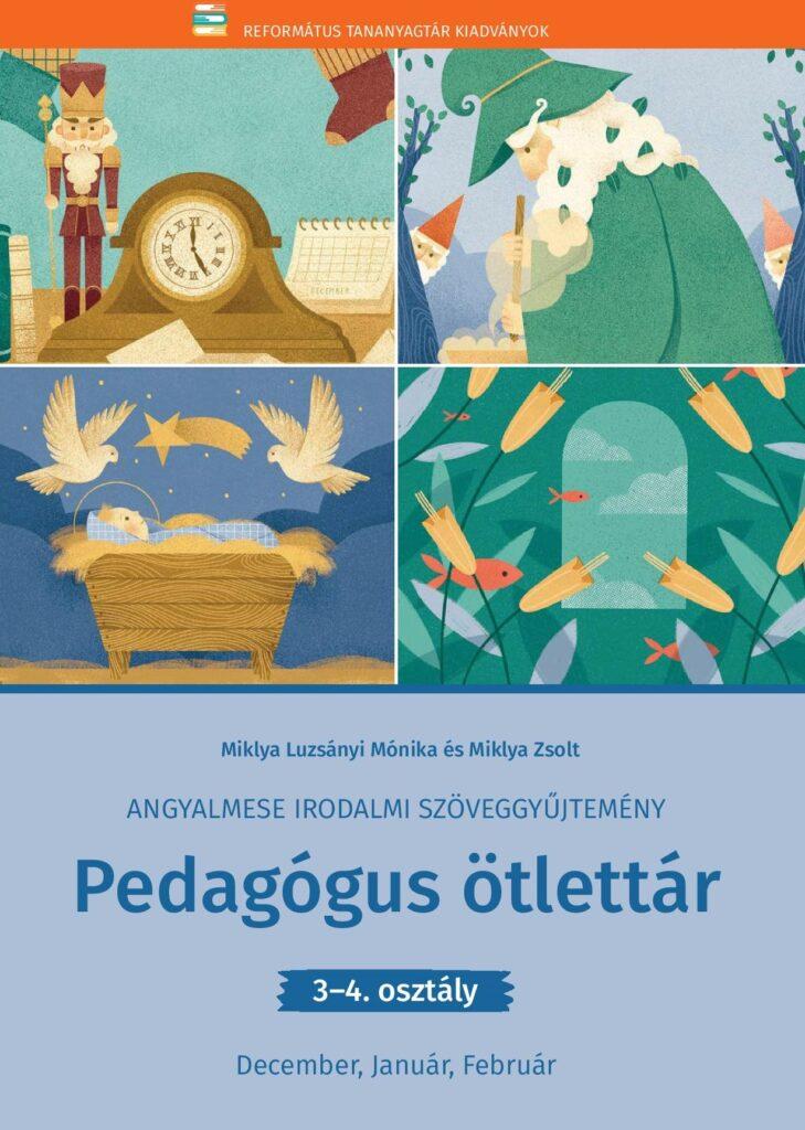 Az Angyalmese kiadványhoz kapcsolódó Pedagógus ötlettár borítója