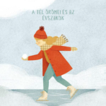 A tél örömei és az évszakok – az Angyalmese fejezetének illusztrációja