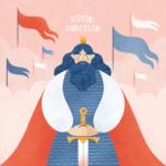 Hősök, harcosok – az Angyalmese fejezetének illusztrációja