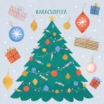 Karácsonyfa – az Angyalmese fejezetének illusztrációja