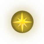 Csillag háttérrel