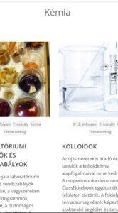 Kémiai témacsomagok